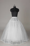 Cute Tulle Netting Ball-Gown 2 Tier Floor Length Slip Style Wedding Petticoats P01