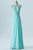 Mint Green A Line Floor Length Sweetheart Sleeveless Open Back Beading Cheap Bridesmaid Dresses