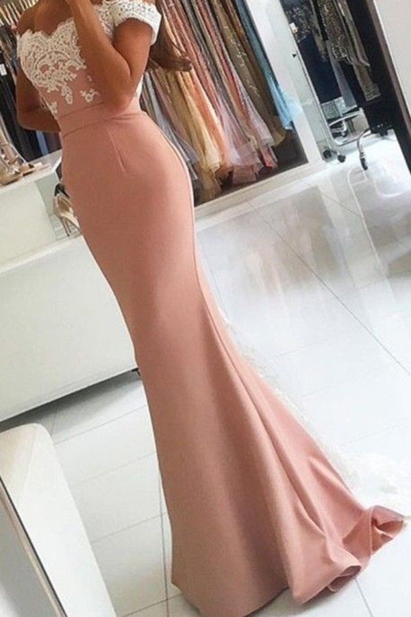 Impressive Sweetheart Neck A-line With Appliques Long Prom Dress P611