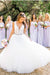 A Line Floor Length Deep V Neck Sleeveless Cheap Wedding Gown Beach Wedding Dress W151