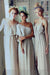Simple Chic A Line Different Styles Floor Length Bridesmaid Dress B310