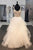 White A Line Floor Length Scoop Neck Sleeveless Ruffles Beading Wedding Dress,Wedding Gowns