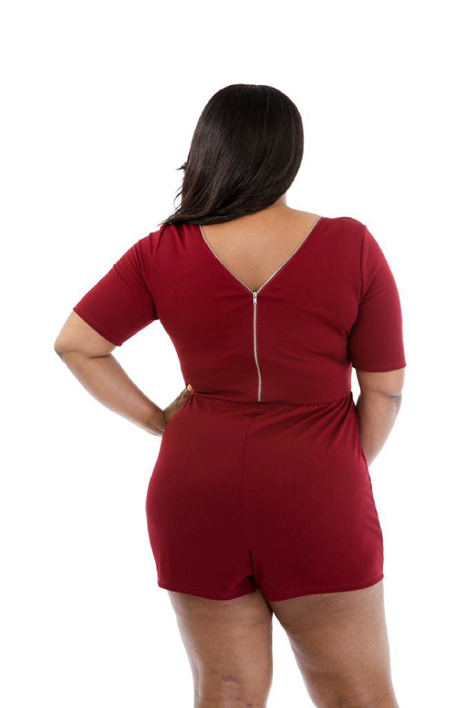 Zipper Front Plus Size Sheath Formal Dress FP6001