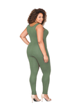Sleeveless Plus Size Jumpsuit  FP3405