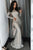 Stunning Mermaid Long Sleeves Floor Length Prom Dress with Sequins P844