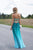 Ombre A Line Floor Length Sweetheart Sleeveless Backless Prom Dress,Formal Dress O06 - Ombreprom
