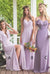 Charming Chiffon Sweetheart Floor Length Sleeveless Bridesmaid Dress B363