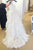 White A Line Court Train Sweetheart Spaghetti Ruffles Wedding Gown,Cheap Wedding Dress W176