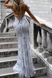 Elegant Sheath Sweep Train Sweetheart Sleeveless Backless Long Prom Dress,Party Dress P224 - Ombreprom