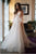 Charming Long Sleeves Backless Tulle Sweep Train Prom Dress with Appliques P841