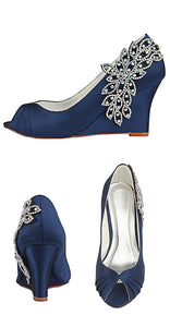 Beautiful High Heel With Beading Women Party Shoes S13 - Ombreprom