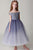 Chic Off The Shoulder Sleeveless Tulle Sequins Floor Length Flower Girl Dresses F87