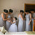 Gorgeous Round Neck Sleeveless Open Back Floor Length Bridesmaid Dress B444