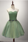 Cute Sweetheart Neck A-Line Classy  Homecoming Dress M446