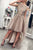High Low Asymmetry Tulle Prom Dress A-Line Round Neck with Appliques M776