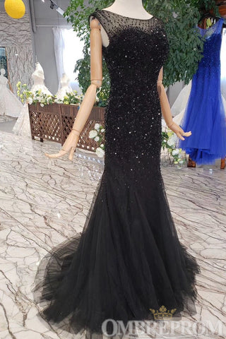products/Black_Mermaid_Prom_Dress_Sleeveless_with_Beading_D214_2.jpg