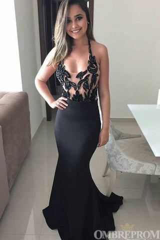products/Black_Tulle_Mermaid_Party_Dress_Sleeveless_Long_Prom_Dress_D60.jpg