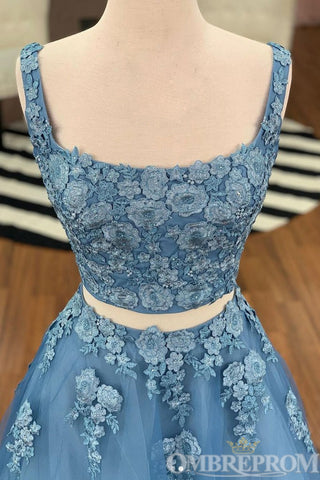 products/Blue_Two_Piece_Lace_A_Line_Prom_Dress_with_Appliques_D337_1.jpg