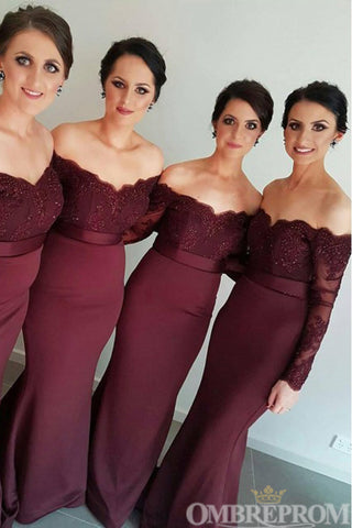 products/Burgundy_Off_Shoulder_Long_Sleeves_Mermaid_Bridesmaid_Dress_B503.jpg