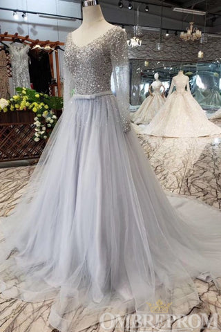 products/Chic_Long_Sleeves_V_Neck_Tulle_A_Line_with_Beading_with_Sequins_215_2.jpg