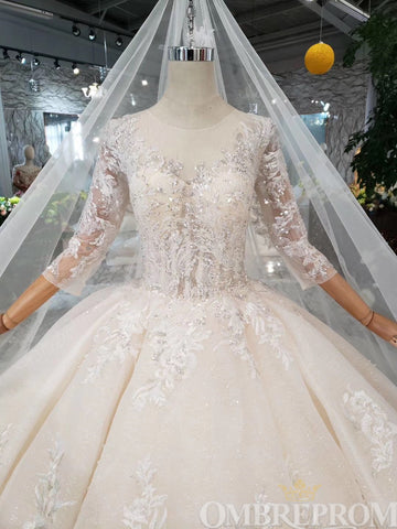 products/Delicate_Round_Neck_Long_Sleeves_Tulle_Wedding_Dress_with_Beading_W711_2.jpg