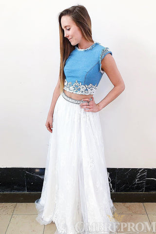 products/Delicate_Two_Piece_Party_Dress_Lace_Floor_Length_Prom_Dress_D248.jpg