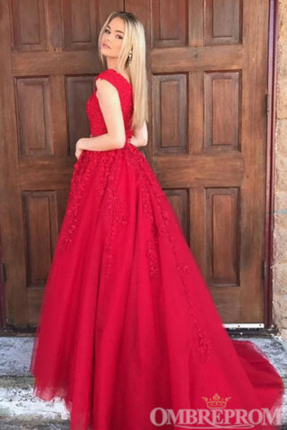 products/Elegant_Red_V_Neck_Lace_Ball_Gowns_A_Line_Long_Prom_Dress_D282_3.jpg