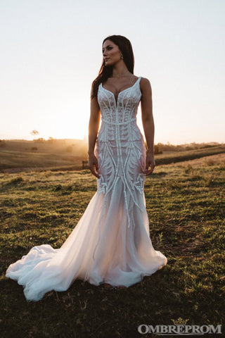 products/Gorgeous_Straps_V_Neck_Sweep_Train_Lace_Mermaid_Wedding_Dresses_W627_2.jpg