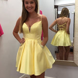 New Arrical A-line Zipper Back Short Homecoming Dress Sweet 16 Dress H0005