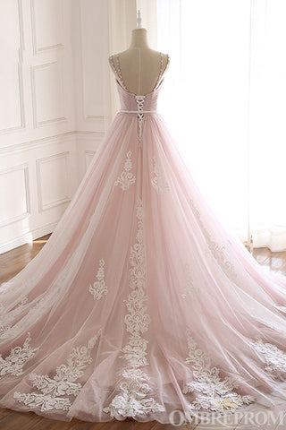 products/Light_Pink_Spaghetti_Straps_Sweetheart_Tulle_Ball_Gown_Beaded_Prom_Dress_D95_2.jpg