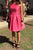 Charming Sleeveless Satin Knee Length A Line Homecoming Dress M630 - Ombreprom