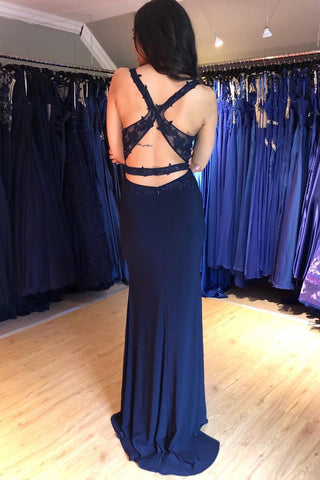 products/Navy_Blue_V_Neck_Backless_Top_Lace_Prom_Dress_with_Split_Side_D205_1.jpg