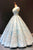 Charming Off Shoulder Lace Up Back Prom Dress V Neck Ball Gown with Appliques D47