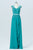 Peacock Green Sheer Back Cheap Bridesmaid Dresses,Appliques Beading Simple Bridesmaid Gowns