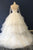 Unique Multi-layer Ball Gown Prom Dress,White Beaded Wedding Dress OMW11