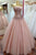 Sweetheart Appliques Sequins Prom Dress,Strapless Bodice Long Party Gowns OMW17