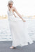 Simple Sheath Floor Length Sweetheart Strapless Wedding Gowns,Open Back Appliques Beach Wedding Dress OMW79