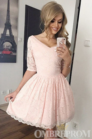 products/Pink_Half_Sleeves_Short_Prom_Dress_Lace_Homecoming_Dress_M667.jpg