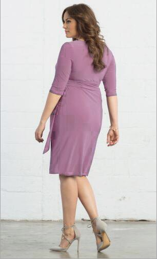 Sexy Plus Size V-neck Formal Dress Party Dress FP3308