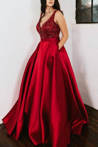 products/Red_Prom_Dress_Satin_Beaded_Ball_Gown_with_Pockets_D205_2.jpg