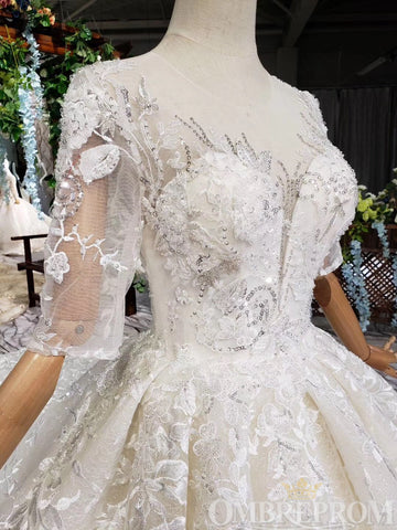 products/Sparkly_Half_Sleeves_Lace_Wedding_Dress_with_Appliques_Bridal_Gown_W715_1.jpg