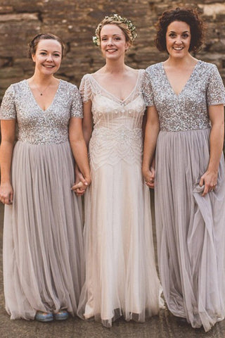 products/Sparkly_Short_Sleeves_V_Neck_Chiffon_Bridesmaid_Dress_B514_2.jpg