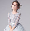 Cute Organza With Appliques Floor Length Long Flower Girl Dresses F70
