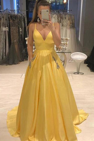 products/Yellow_Spaghetti_Straps_A_Line_V_Neck_Prom_Dress_D382.jpg