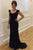 Simple Balck Sweetheart Sleeveless Sweep Train Prom Dresses Formal Party Dresses P963
