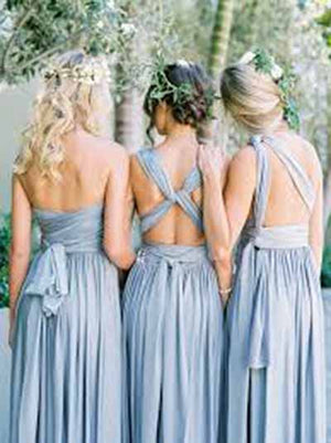 d1458210a3b Gorgeous Different Styles Sleeveless Light Blue Bridesmaid Dress B379
