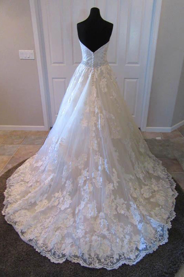 Princess Wedding Dresses Elegant Ball Gowns Wedding Dresses OM562 - Ombreprom