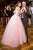 Chic Sweetheart Sleeveless Beading Appliques Tulle Floor Length Prom Dress P778