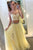 Chic Two Pieces Sweetheart Tulle Floor Length Prom Dress P645