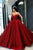 Stunning Sweetheart Ball Gown A Line Prom Dress with Sequins P873